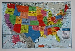 Teaching Tree United States Wall Map - 40