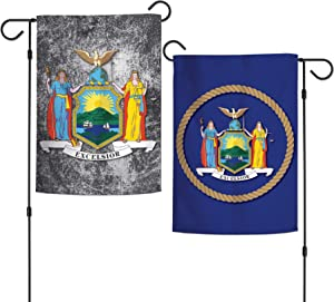 WinCraft Destination New York State/New York Garden Flags 2 Sided 12.5