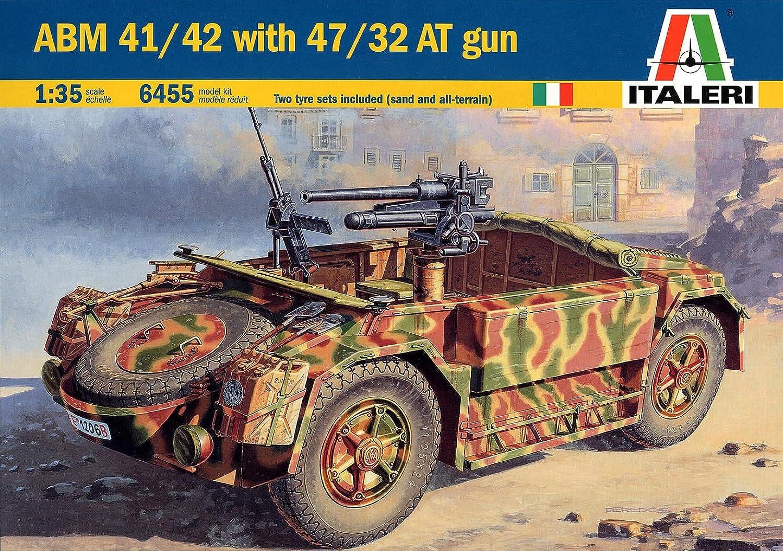 Italeri 6455S - ABM 41 42 Sahariana with 47 32 AT Gun B000OGTN0I Mittlere Kosten  | Nicht so teuer