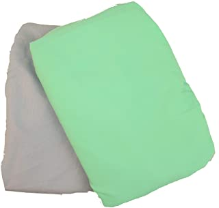 Baby Bassinet Sheets – Set of 2 – Fitted for The Chicco Lullago 32