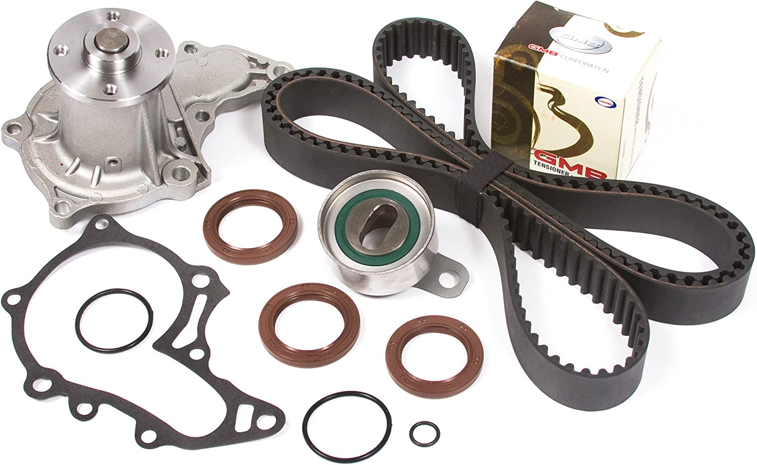 Max 67% OFF Evergreen TBK036WPT Compatible With Toyota 4AFE Max 87% OFF DOHC Belt Timing
