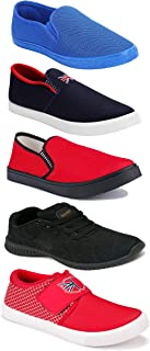 Shoefly Sports Running Shoes/Casual/Sneakers/Loafers Shoes for Men&Boys (Combo-(5)-1219-1221-1140-466-780)
