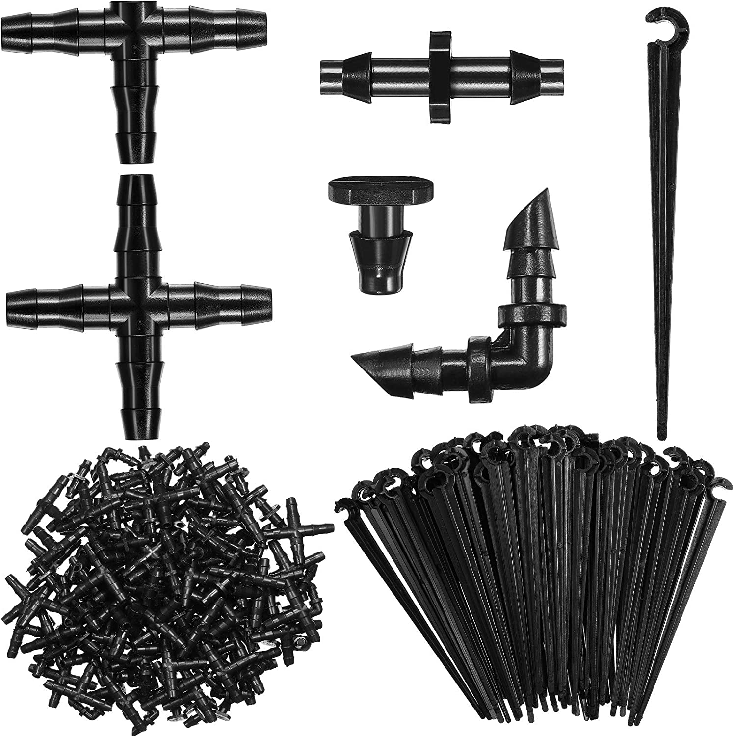 Irrigation Be super welcome Fittings Kit Portland Mall Drip St 80 Connectors Include