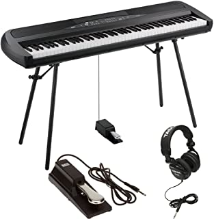 KORG SP-280 BK Digital Piano 88 Key Weighted Hammer Action w