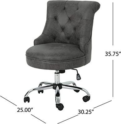 Pleasant Amazon Com Christopher Knight Home Tucker Office Chair Machost Co Dining Chair Design Ideas Machostcouk