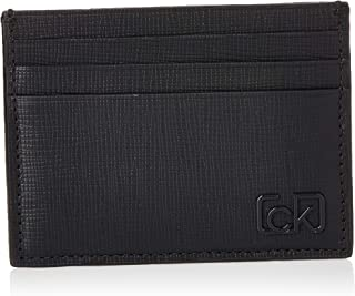 Calvin Klein Signature Staff Cardholder Wallets, Card Cases & Money Organizers, Black, 10 cm - K50K505429