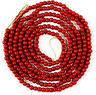 twisted bead garland
