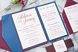 rebecca wedding invitations