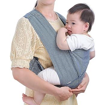 TWONE 抱っこひも 前抱きタイプ らくらくキャリーアジャスト ベビーキャリア だっこひも コンパクト 男女兼用 赤ちゃん サイズ調整可能 収納ポーチ 3ヶ月~3歳 軽量 持ち運び便利お出かけ 抱き方やすい 安心 便利 日本語説明書付き 収納ポーチ付き 女の子 男の子 新生児 出産祝い クリスマスギフト 初めての母親のプレゼント (ネイビー)