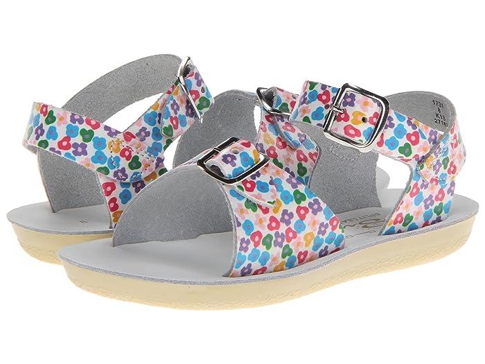 Salt Water Sandal by Hoy Shoes  Sun-San - Surfer (Toddler/Little Kid) (Floral) Girls Shoes