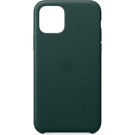 iPhone 11 Proレザーケース - フォレストグリーン