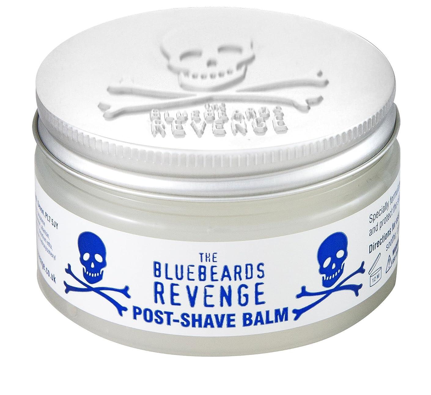 いらいらする潜むうがい薬The Bluebeards Revenge Post Shave Balm 100 ml