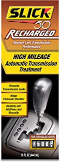 Slick 50 41806015 Recharged High Mileage Automatic Transmission and Engine Treatment, 15-Ounce