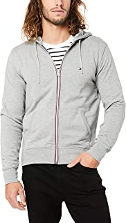 TOMMY HILFIGER Men's Cotton Full-Zip Hoodie
