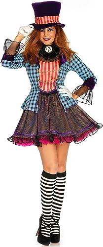 para mayoristas Leg Avenue Ravishing Mad Mad Mad Hatter Disfraz  colores increíbles