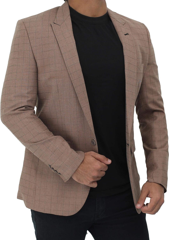 Slim Fit Blazers for Men - Casual Dress Suit Jacket for Men