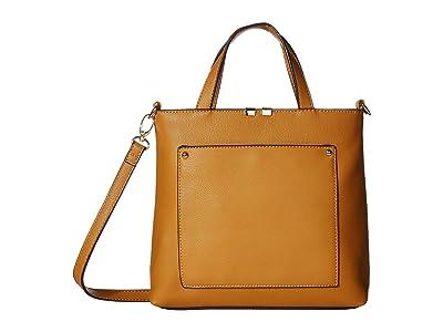 SOLE / SOCIETY Cora Mini Tote (Golden Rod) Handbags