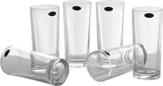 Amlong Crystal Lead Free Water or Juice Glasses - 10 oz, Set of 6