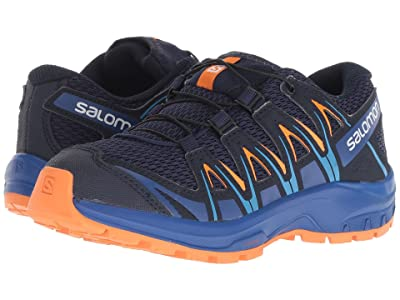 Salomon Kids Xa Pro 3D (Little Kid/Big Kid) (Medieval Blue/Mazarine Blue Wil/Tangelo) Boys Shoes