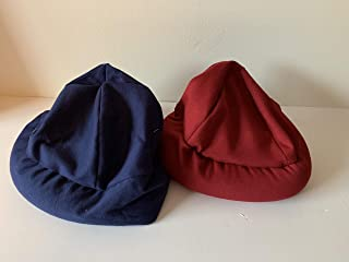 Weighted hat - adult, jersey cotton- washable - compression, adult weighted hat