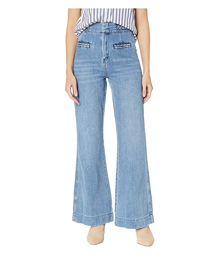 60s – 70s Pants, Jeans, Hippie, Bell Bottoms, Jumpsuits Free People Seasons in the Sun Jeans Sky Womens Jeans $88.80 AT vintagedancer.com