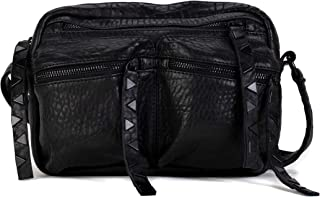 حقيبة كروس بودي من فراي فرانكي، لون أسود
