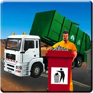 Garbage Truck Simulator 2017: City Dump Driver 3d
