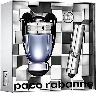 paco rabbane Invictus Eau De Toilette Samples For Men, 100 ml + 10 ml
