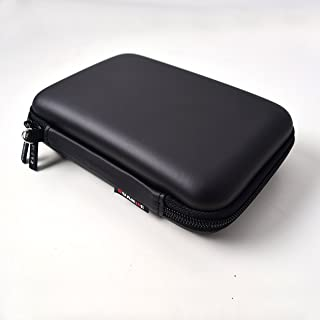 Small Size Projector Strong Travel Carrying Case for Micro Pico Projector and Accessories - Black 。ュ