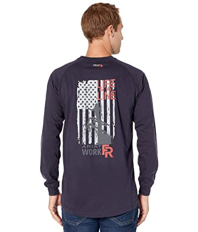 Ariat FR Air Life On The Line Graphic Long Sleeve T-Shirt
