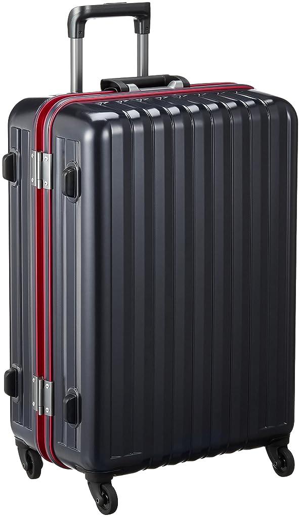 スピン苗倒錯[バウンドリップ] スーツケース フレーム BD55 消音/静音キャスター ストッパー 保証付 70L 68 cm 4.3kg