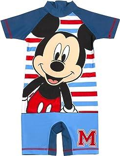 Disney Mickey Mouse Swimsuit Boys | Children's Sunsafe Swim Costume
