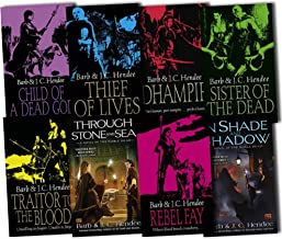 Barb Hendee J. C. Hendee Noble Dead 8 Books Collection Pack Set RRP: £59.92 (In Shade and Shadow, Traitor to the Blood, Th...