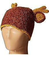 San Diego Hat Company Kids Crochet Deer Beanie (Infant/Toddler/Little Kids)