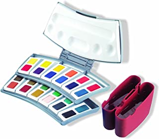 Pelikan Transparent Watercolor Paint Set, 24 Colors (721894)