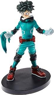 Action Figure My Hero, Academy, Izuku, Midoriya, DXF, Bandai Banpresto, 30409, Multicor, 16 cm