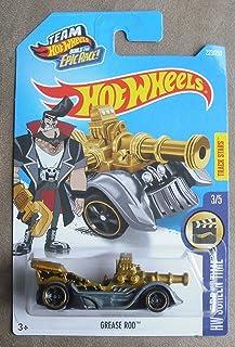 Hot Wheels 2016 HW Screen Time Grease Rod 223/250 (Treasure Hunt)