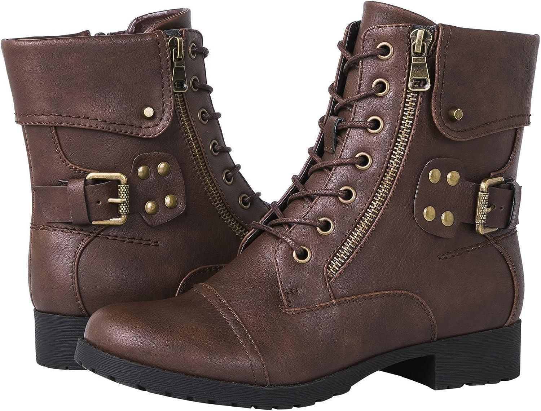 GLOBALWIN Women's 1822 Brown Fashion Boots 10M