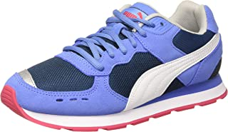 Puma White-Heather Blue Vista Jr Ultramarine Unisex Kids' Sneakers - 5 Kids UK (38 EU, 6 Kids US, 36953908)