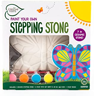 Best Creative Roots Paint Your Own Mosaic Butterfly Stepping Stone by Horizon Group USA Reviews