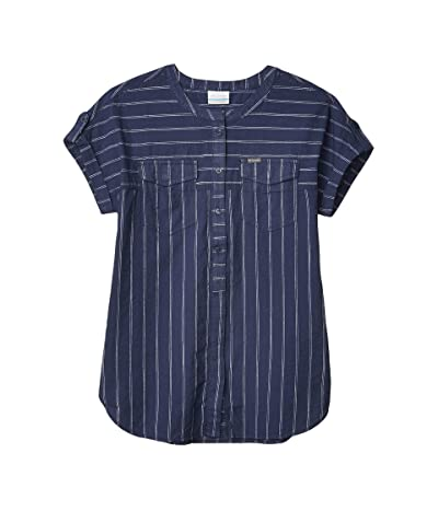 Columbia Camp Henrytm Relaxed Shirt (Nocturnal Stripe) Women