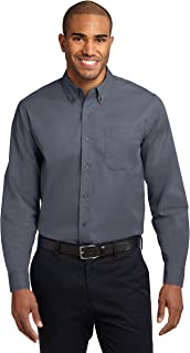 Port Authority Easy Care Men Dress Shirts Long Sleeve – Regular Extended Tall Sizes