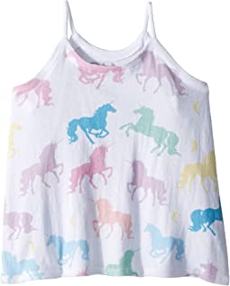 Chaser Kids - Unicorns Forever Tank Top (Toddler/Little Kids)
