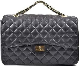 كارلا فيريري حقيبة للنساء-اسود - حقائب فلاب