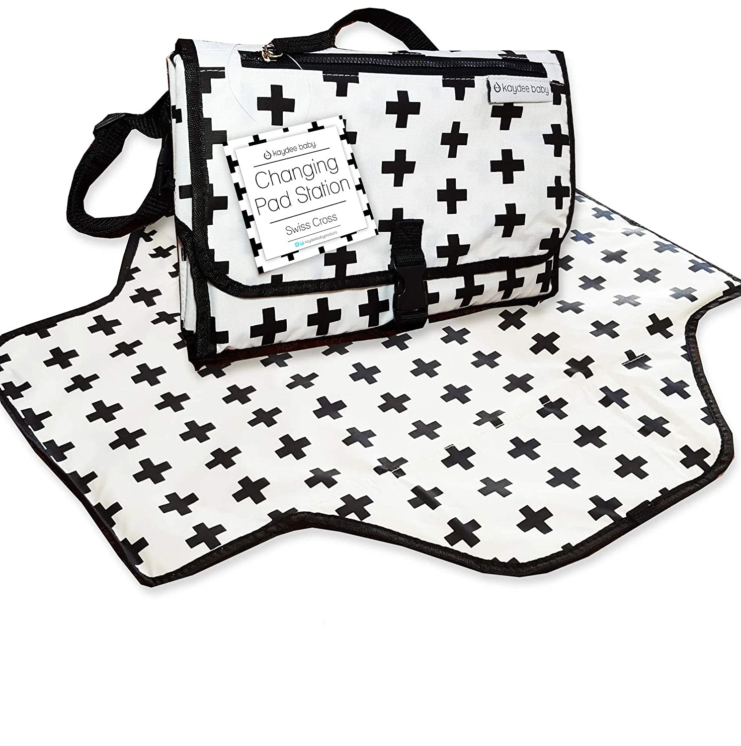 Kaydee Baby Portable Today's 25% OFF only Swiss Cross wit Changing Diaper Pad Station
