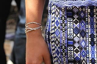 egyptian spiral bracelet