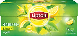 Lipton Green Tea Lemon , 25 Bags