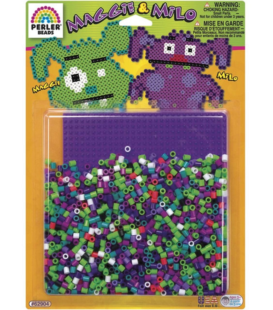 Perler Beads Fuse Bead Activity Kit: Maggie & Milo