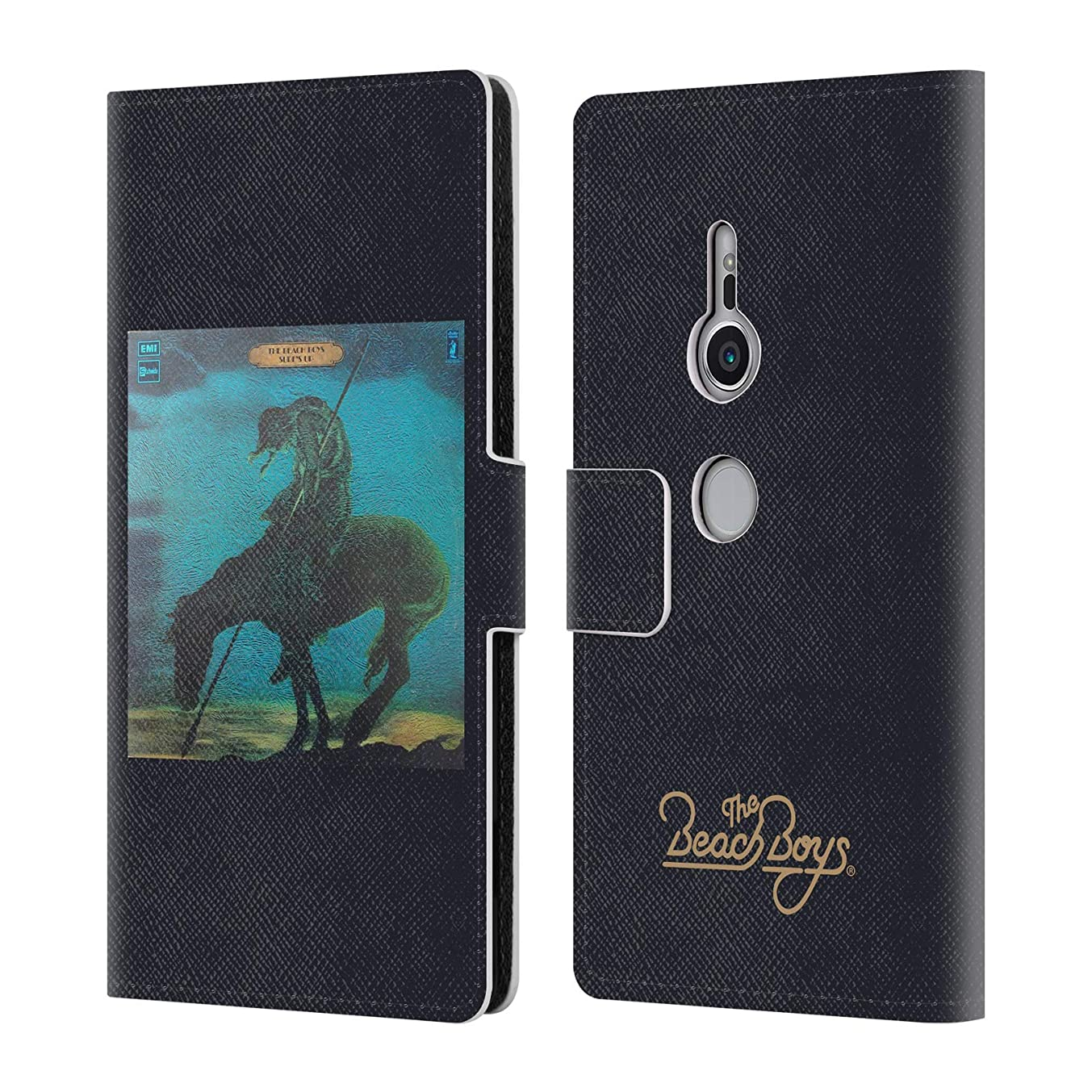 Official The Beach Boys Surfs Up Album Cover Art Leather Book Wallet Case Cover for Sony Xperia XZ2