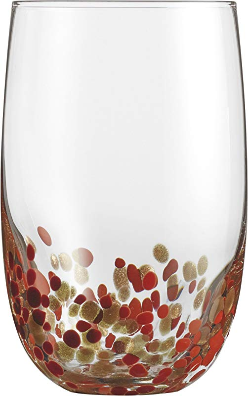 Cuisinart CG S4HBRG Highball Glassware Red